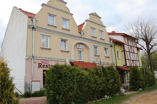 Morag, Polen: Widok Hotelu