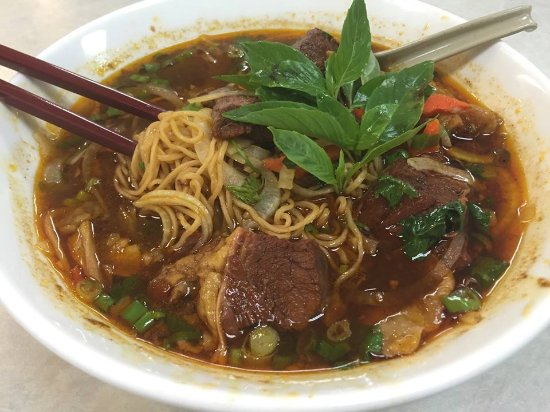 Milpitas, Kalifornien: #21 Beef Stew with Yellow Noodle Soup