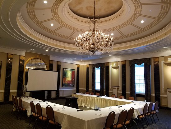 A most stunning meeting room with original chandelier artwork the chase park plaza royal sonesta st louis a most stunning meeting room aloadofball Image collections