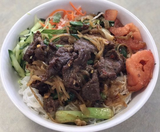 Milpitas, CA: #95 Spicy Sauteed Beef Vermicelli Bowl