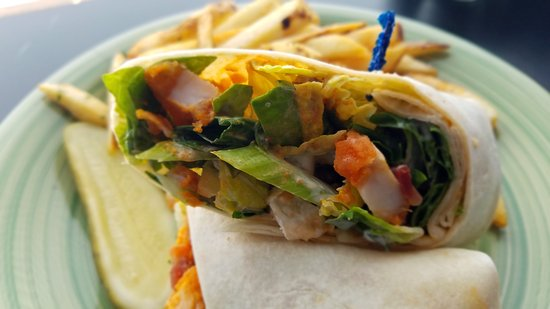 Pawcatuck, CT: Buffalo Chicken Wrap