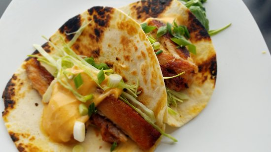 Pawcatuck, CT: Pork Belly Taco's