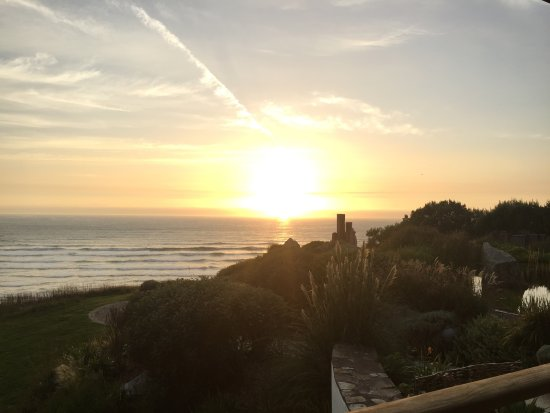 Mawgan Porth, UK: The view from our room