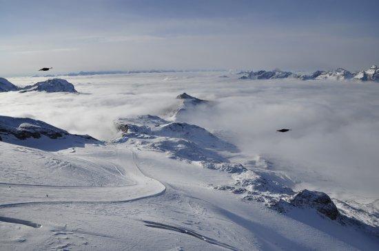 Breuil-Cervinia Ski Area: e naufragar m'è dolce in questo mare ...