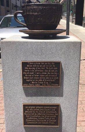 Greensboro, Carolina del Norte: Outside the museum