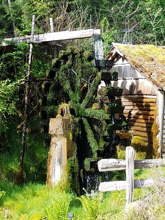 Union, WA: Water wheel