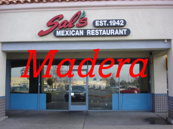Madera, CA: Family friendly Mexican Restaurant, Dine in, Take out, Catering, Banquet Room