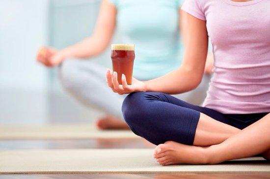 Geneva, Estado de Nueva York: BOGA - yoga and a pint  Sunday morning 10:30 to 11:30 am $12