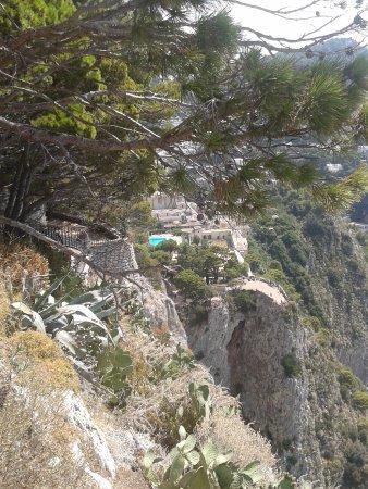 Belvedere Cannone: Scorcio di Capri
