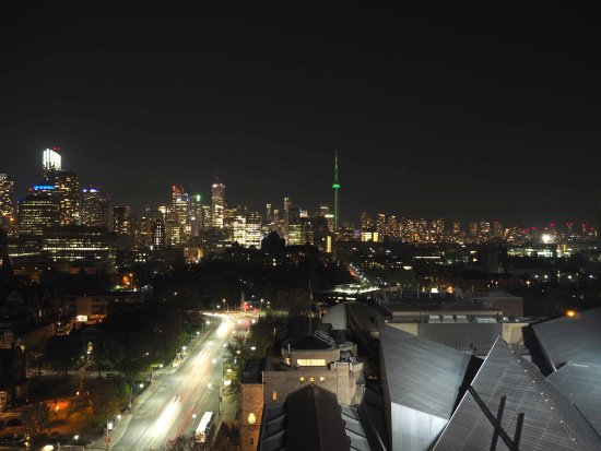 Panorama Notturno Dal Roof Lounge Picture Of Park Hyatt