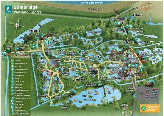 Slimbridge, UK: Map