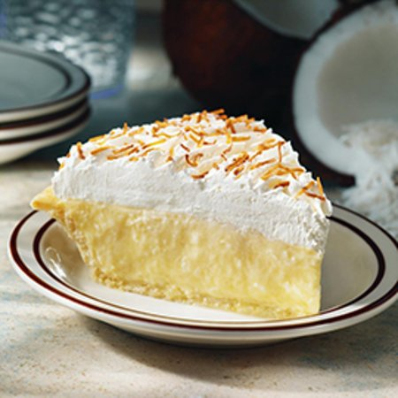 Fremont, OH: Frisch's Big Boy Coconut Cream Pie