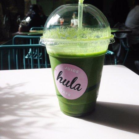 Hula Juice Bar and Gallery: Tahiti Kicks Juice