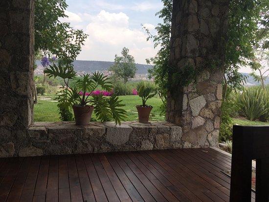 Terraza Con Vista Al Campo De Golf Picture Of El Bunker