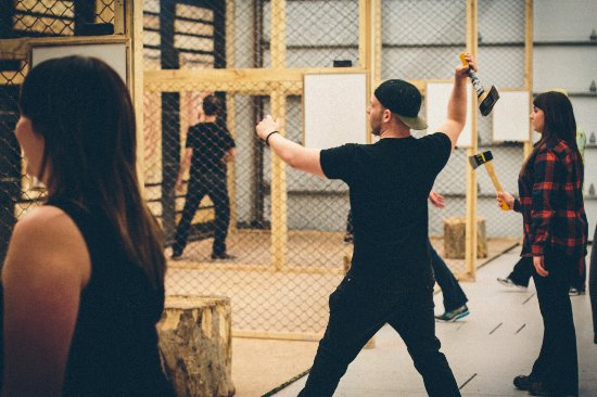 Lumberjax Axe Throwing