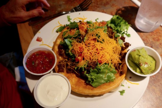 Green River, WY: Hitching Post Navajo Taco