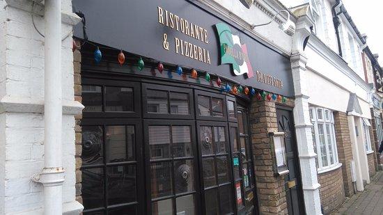 Newhaven, UK: Façade du restaurant