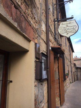 Casole d'Elsa, Italia: Essen war ein kulinarischer höhenflug in der toskana...!!!