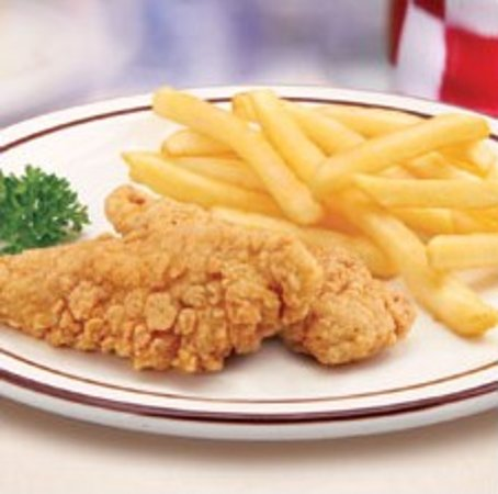 Napoleon, OH: Frisch's Big Boy Kids Chicken Fingers
