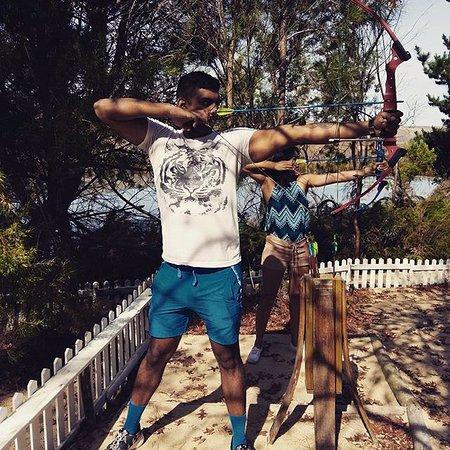 Grabouw, Sudafrica: Archery @ Daddy's Adventures