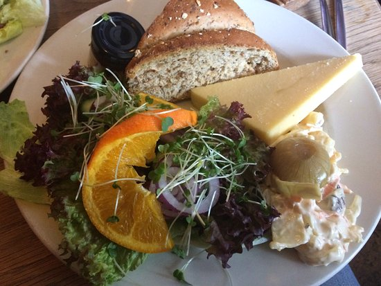 Widecombe in the Moor, UK: Cheese Ploughmans