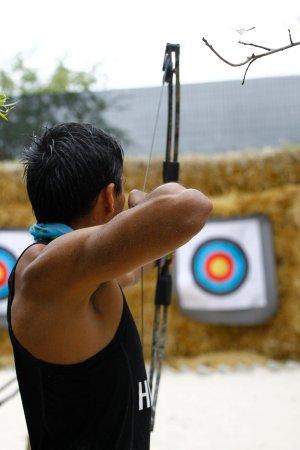 Grabouw, África do Sul: Archery @ Daddy's Adventures