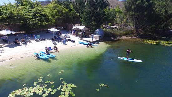 Grabouw, Afrique du Sud : Daddy's Beach & Bar @ Daddy's Adventures