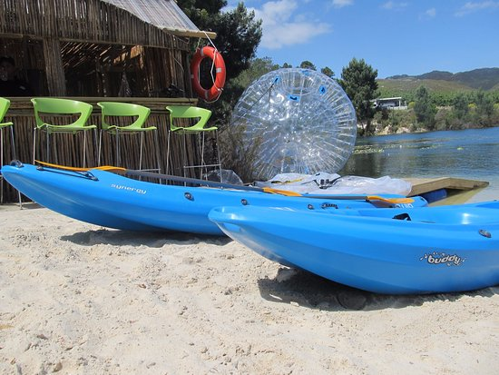 Grabouw, África do Sul: Adventure Activities @ Daddy's Adventures