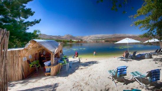 Grabouw, África do Sul: Daddy's Beach & Bar @ Daddy's Adventures