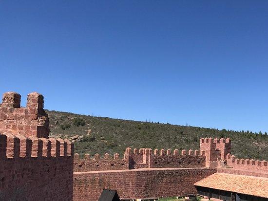 Provincia de Teruel, España: Interior del castillo