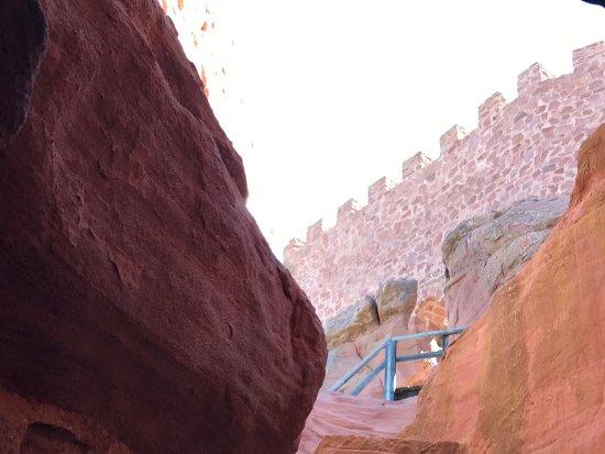 Provincia de Teruel, España: Escalera interior