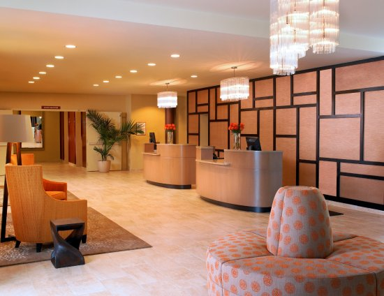 Pleasanton, Kaliforniya: Hotel Lobby
