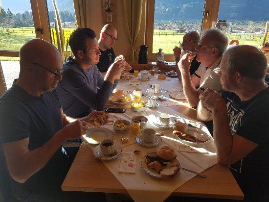 Höfen, Österreich: Ontbijt was best goed.