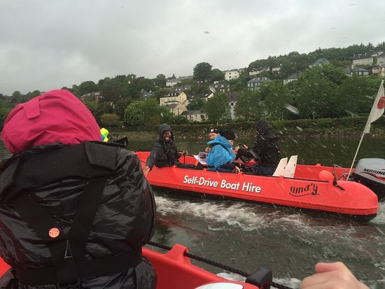 Cobh, Ireland: fun in the rain