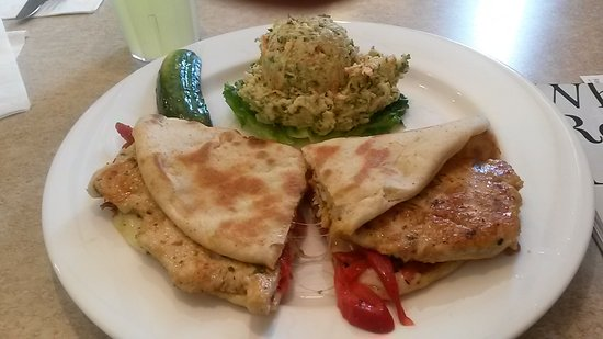 Guilford, CT: Delicious chicken pannini