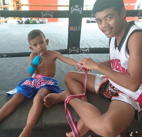Чернгталай, Таиланд: Sitsongpeenong Muay Thai Training Phuket