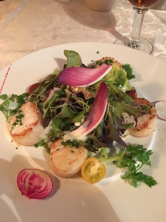 Saint-Jean-de-Maurienne, Francja: Salade de St Jacque ... un délice sans nom