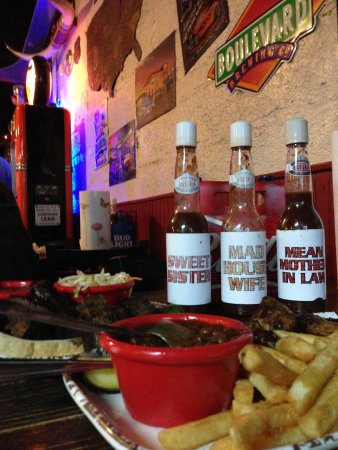 BBQ Sauces: Sweet Sister, Mad HouseWife, Mean Mother-in-Law