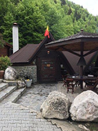 Moieciu de Sus, Rumania: Entrance