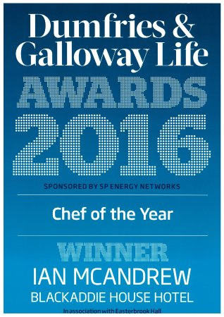 Sanquhar, UK: Chef of the Year 2016