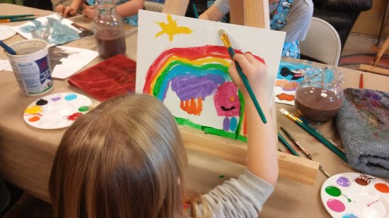 Prescott Valley, AZ: Birthday party painting!