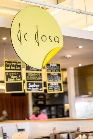 Bethesda, MD: Dc Dosa Logo our station at Union market