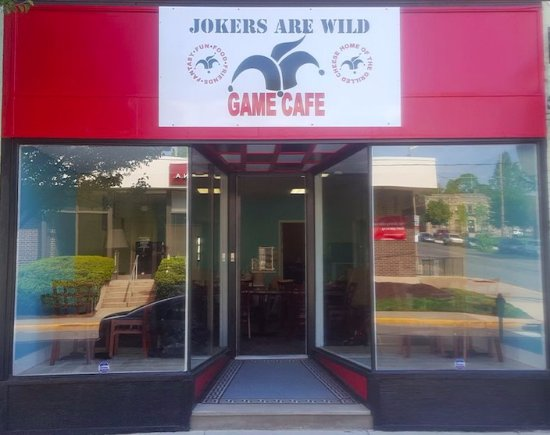 Jokers Are Wild Game Cafe