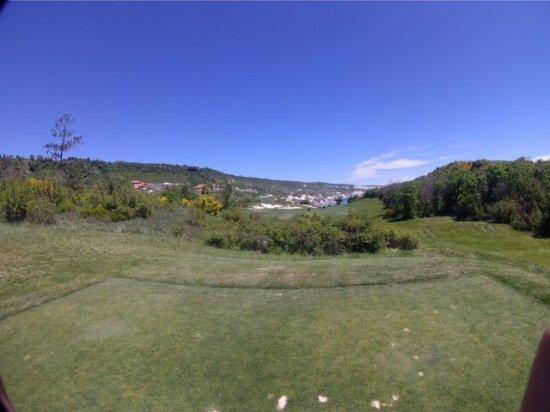 Kavarna, Bulgaria: Blick über den Golfplatz