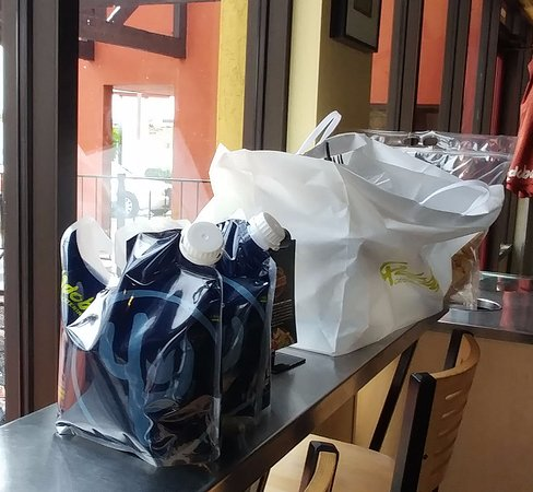 Clifton, CO: Catering order - love the drink containers