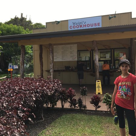 Honokaa, Hawái: the restaurant/place you order