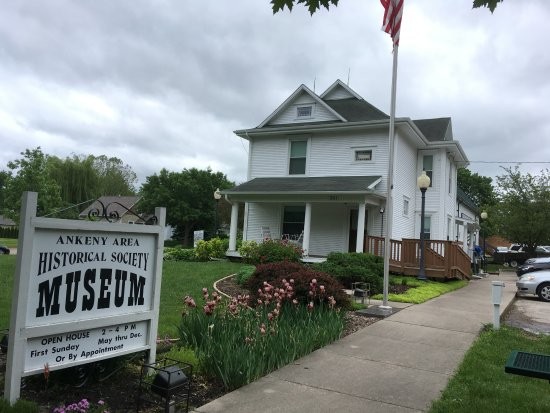 Ankeny, IA: The museum includes a house and barn museum full of many displays and exhibits