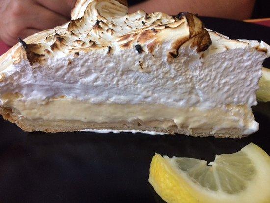 Eymet, Frankrig: Lemon Meringue tart