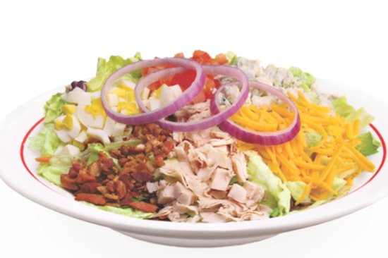Tiffin, OH: Frisch's Big Boy Cobb Salad