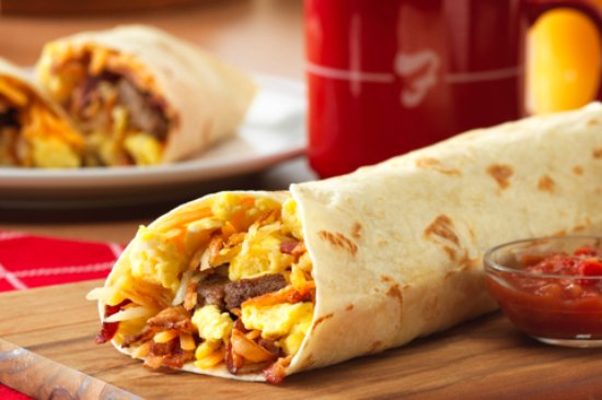 Tiffin, OH: Frisch's Big Boy Hog Heaven Burrito